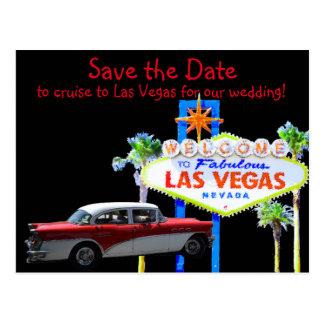 Diversión Las Vegas que casa reserva la fecha Postales