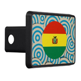 Diversión llenada, bandera redonda de Bolivia Tapas De Remolque