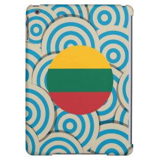 Diversión llenada, bandera redonda de Lituania