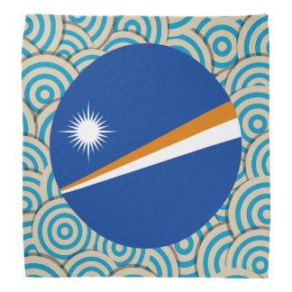 Diversión llenada, bandera redonda de Marshall Bandana