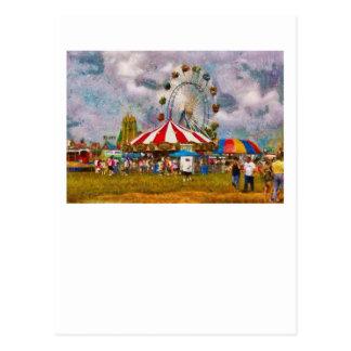 Diversión - mire todo el entusiasmo tarjeta postal