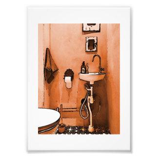 """Diversión para los fontaneros """"vintage Le Toilet """" Fotografia"""