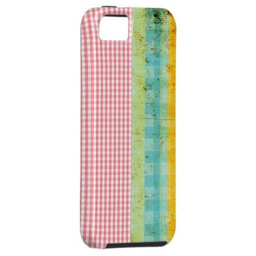 diversión rosada de la guinga del caso del iphone funda para iPhone SE/5/5s
