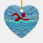 DIVERSIÓN rosada de la piscina NVN695 del corazón