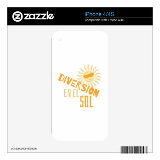 Diversion Skin For iPhone 4S