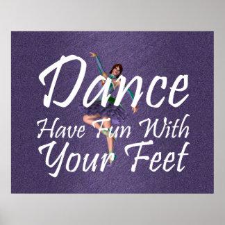 Diversión SUPERIOR de la danza Posters