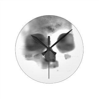Diversión superior de Skully Reloj De Pared