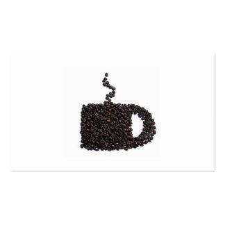 Diversión única linda de moda de Java del café Tarjetas De Visita