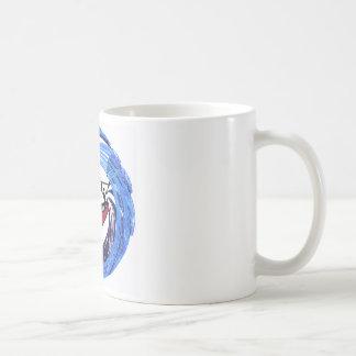 Diversión viva del kajak taza de café