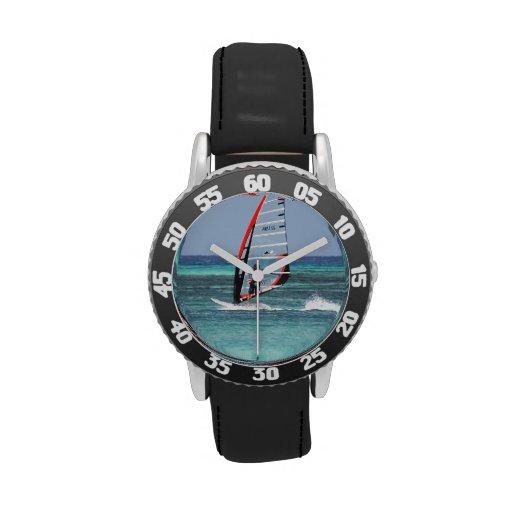 Diversión Windsurfing Relojes De Mano