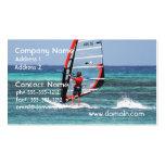 Diversión Windsurfing Plantillas De Tarjetas Personales