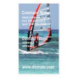 Diversión Windsurfing Tarjetas De Visita