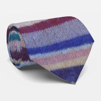 diversión y diseño colorido hecho punto peculiar corbatas