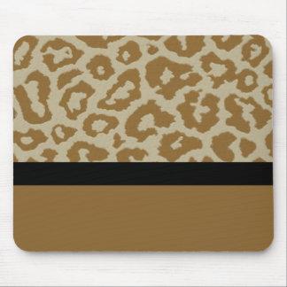 Diversión y estampado leopardo de moda Mousepad