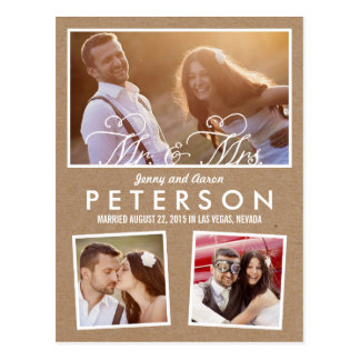 Diversión y invitación juguetona del boda - arte tarjeta postal