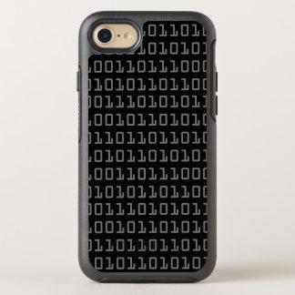 Diversión y modelo de código binario fresco del funda OtterBox symmetry para iPhone 7
