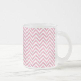 Diversión y modelo rosado y blanco moderno de Chev Tazas De Café