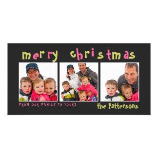 Diversión y tarjeta juguetona de la foto de las Fe Tarjetas Fotográficas Personalizadas