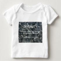 Diversity Baby T-Shirt