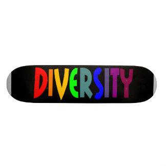 Diversity (Black) Skateboard