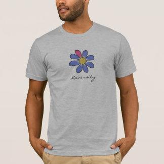 Diversity Blue Flower T-Shirt