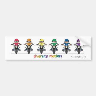 Diversity Bumper Sticker Car Bumper Sticker