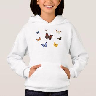Diversity in Nature, Butterflies Hoodie