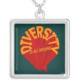 Diversity Is All Around Necklace