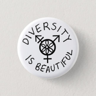Diversity is Beautiful Pinback Button