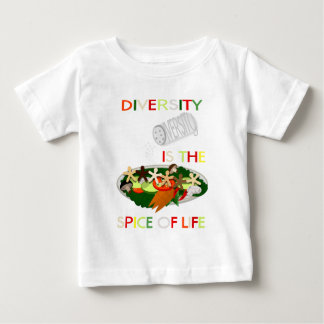 Diversity Is the Spice of Life Kid's Baby T-Shirt