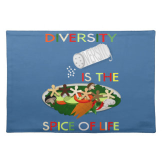 Diversity Is the Spice of Life Placemat