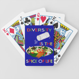 Diversity Is the Spice of Life Playing Cards