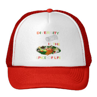 Diversity Is the Spice of Life Trucker Trucker Hat