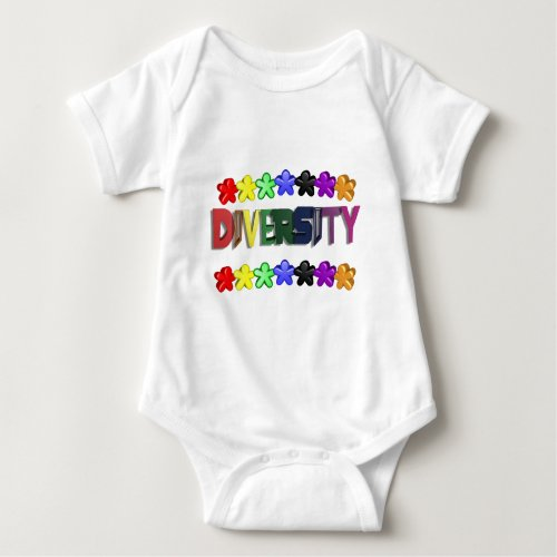 Diversity Lil People Baby Bodysuit