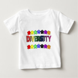 Diversity Lil People Baby T-Shirt