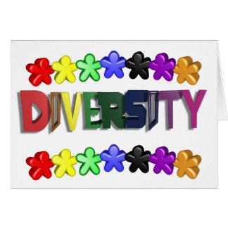 Diversity Lil People Card