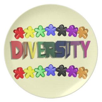 Diversity Lil People Dinnerware Dinner Plate