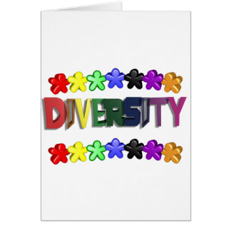 Diversity Lil People Greeting Card
