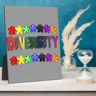 Diversity Lil People Plaque