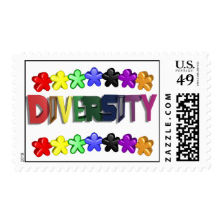 Diversity Lil People Postage
