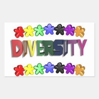 Diversity Lil People Rectangular Rectangular Sticker