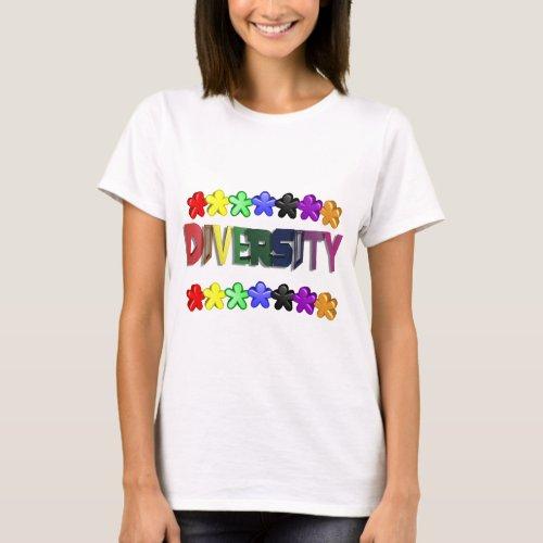 Diversity Lil People T-Shirt