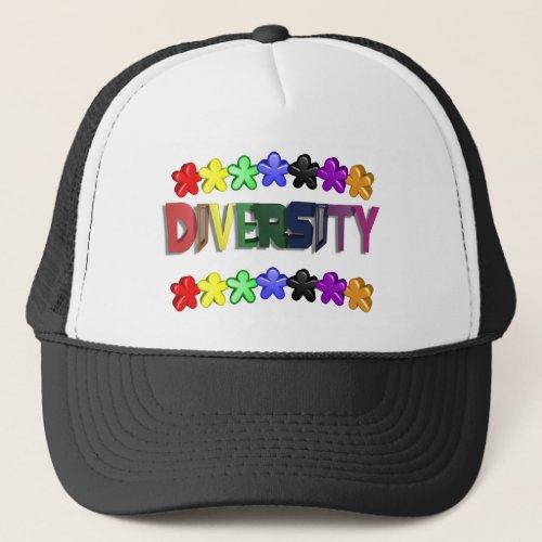 Diversity Lil People Trucker Trucker Hat