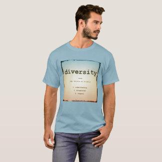 Diversity Men's Basic T-shirt Stonewashed Blue