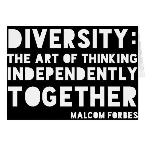 Diversity Notecards Cards