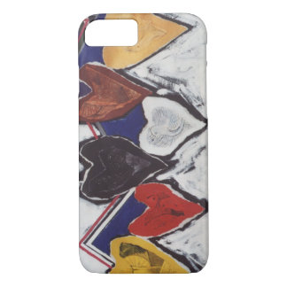 """""""Diversity of Color Heart"""" iPhone 7 Case"""