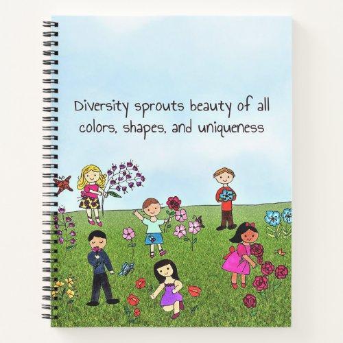 Diversity of Flowers Notebook