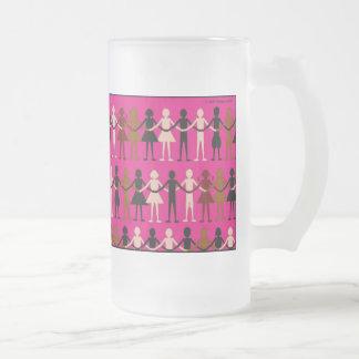 Diversity Paper dolls color mug