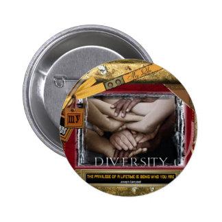 Diversity Pinback Button