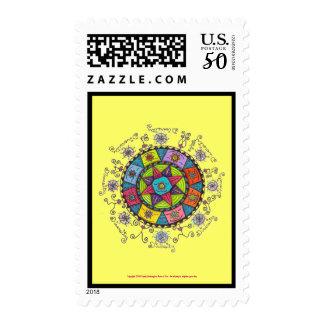 Diversity - Postage Stamp (yellow)